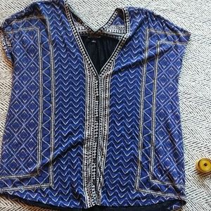 Lucky brand blouse L